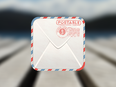 Envelope Icon Free PSD