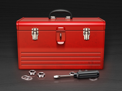 Tool Box Free PSD