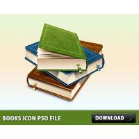 Books Icon PSD File