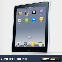 Apple Ipad FREE PSD