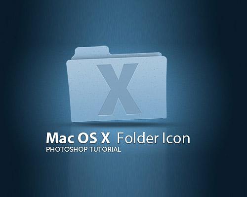 Mac OS X Leopard Folder Free PSD