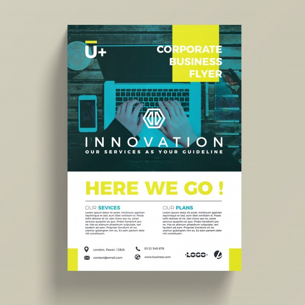 Innovative Corporate Business Flyer