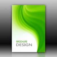 Green And White Brochure Design