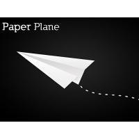 Paper Plane Icon PSD