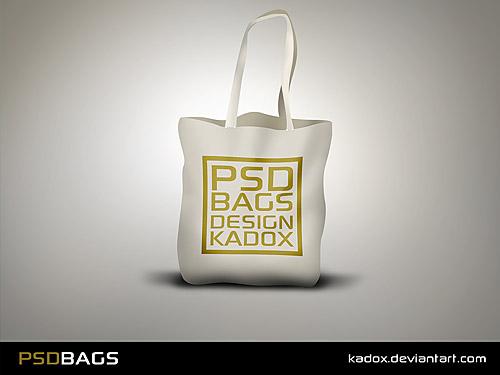 Simple Free PSD Bag