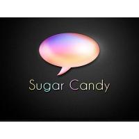 Sugar Candy Speech Blurb Icon PSD