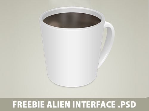 Cup Of Coffee Free PSD