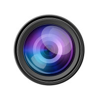 PSD Camera Lens Icon