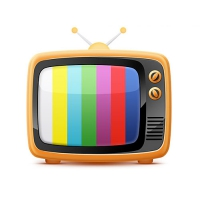Old Style Retro TV Free Icon PSD