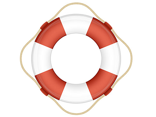 Life Saver Tube Icon PSD