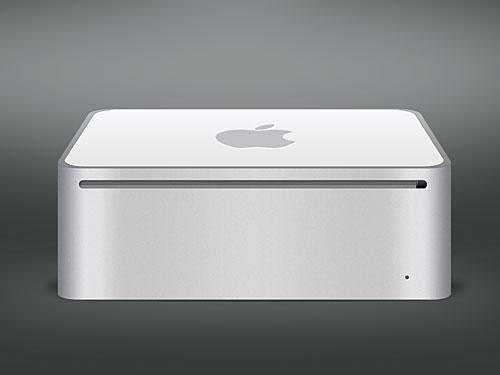 Apple Mac Mini PSD