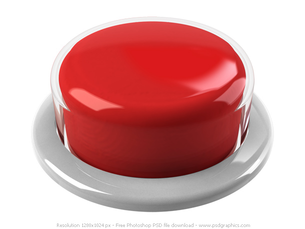 Red Push Button PSD