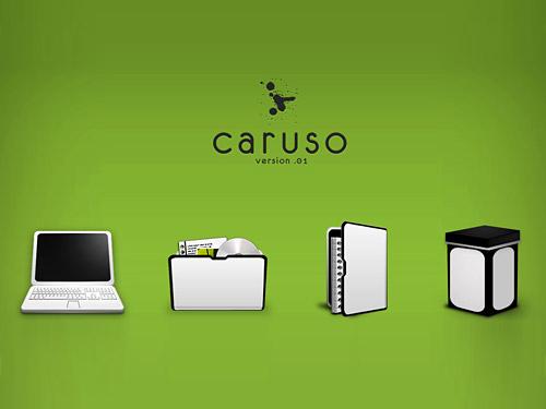 Caruso Icon PSDs