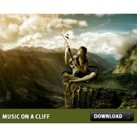 Music On A Cliff PSD