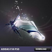 Adidas F50 Free PSD File