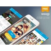 Full iOS8 UI Kit Templates Free