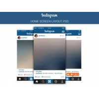 Instagram Mobile Application Template