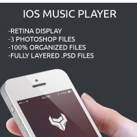 Music Player App PSD