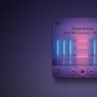 Mini Rounded Music Player