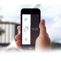 Weather and Time Application