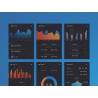 Mobile App Dashboard UI Kit Free