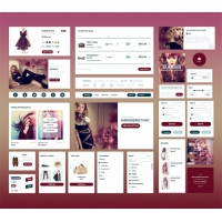 Elegant Fashion eCommerce UI Kit Free
