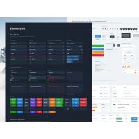 Dashboard UI Elements Free
