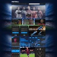 Football UI Kit Elements Free