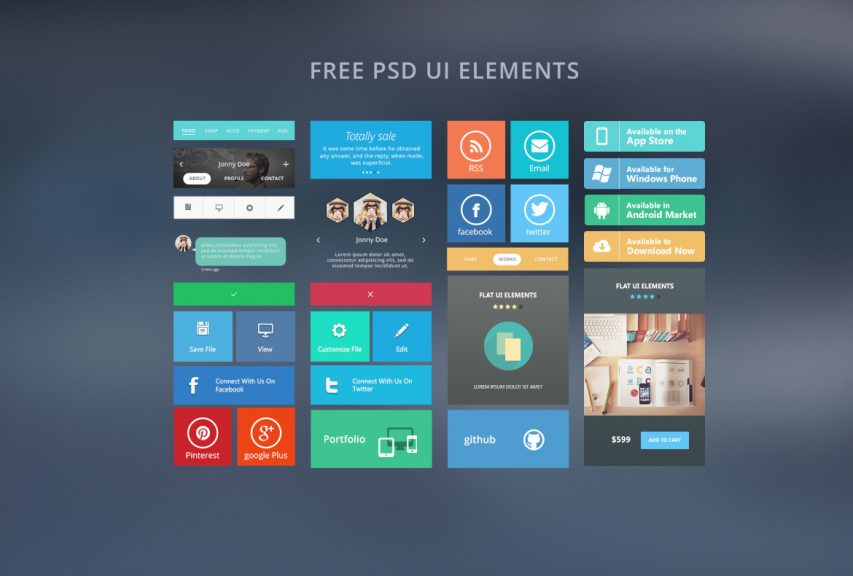 Web Free Ui Elements Free