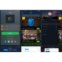Modern eCommerce Sales App UI Free
