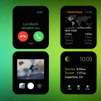 Apple Watch UI Kit Free