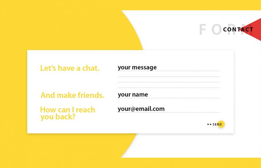 Contact Form UI Free