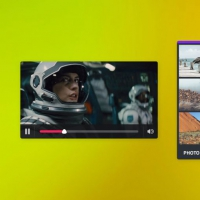 Video Image Gallary UI Free