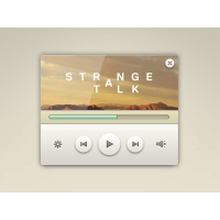 Elegant Music Player Widget Free