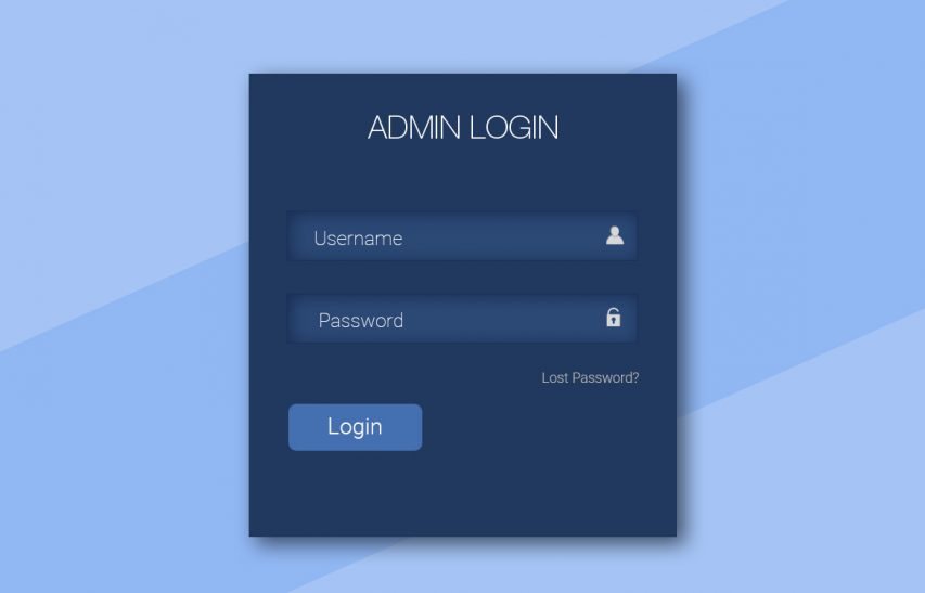 Simple Login Form UI Free