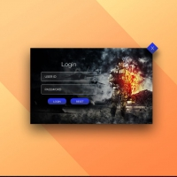 Creative Login Popup UI Free