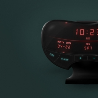 Alarm Clock User Interface Widget Free