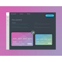 Payment Form UI Template Free