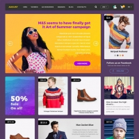 Online Shopping eCommerce Website UI Kit Free