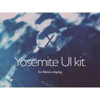 OSX Yosemite Retina UI Kit