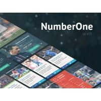 Football Club Web Template GUI
