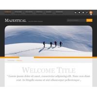 Majestical Free PSD Website Template