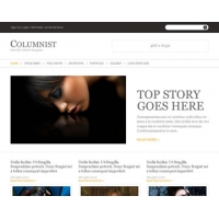 Columnist Free PSD Website Templateu