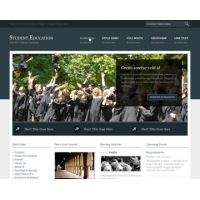 Student Education Free PSD Website Template
