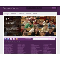 Educational Institute Free PSD Website Template