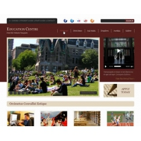 Education Centre Free PSD Website Template