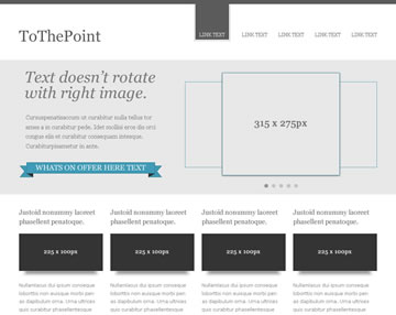 ToThePoint Free PSD Website Template