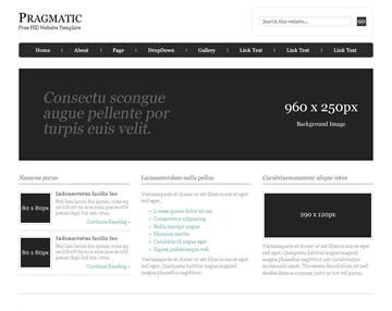 Pragmatic Free PSD Website Template