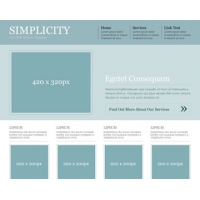 Simplicity Free PSD Website Template