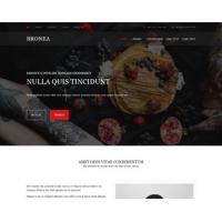 Bronea Free Website Template
